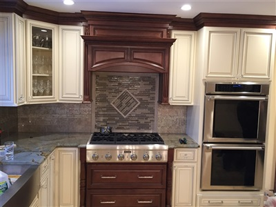 Roslyn kitchen TSG signature pearl and brown